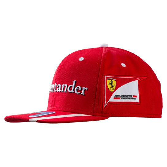 Boné Puma Team Ferrari Aba Reta Raikkonen - Compre Agora  8e9e04cf89f