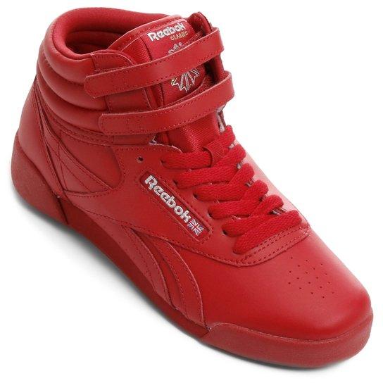 5f5624cf86a Tênis Reebok Freestyle Hi J Infantil - Compre Agora