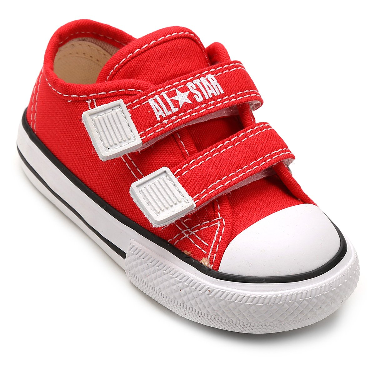 dfbdad1156b Shopping Smiles - Tênis Infantil Converse All Star CT Border 2 Velcros Baby