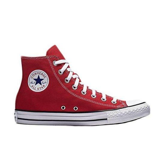 ae432dd850 Tênis Converse Chuck Taylor All Star Hi - Vermelho - Compre Agora ...