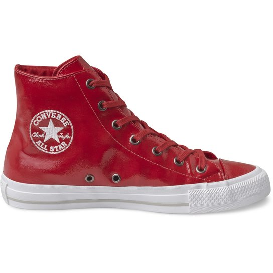 96fc35184 Tênis Converse Chuck Taylor All Star Gemma Hi - Vermelho - Compre ...