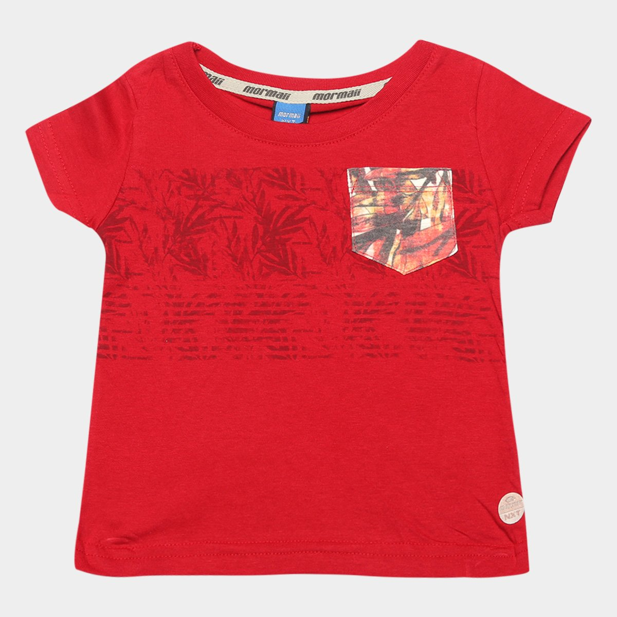 Camiseta Infantil Mormaii Tropical Masculina