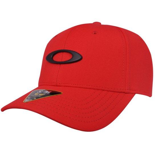 Boné Oakley Tincan Red Line - Compre Agora  be7dad87ce6
