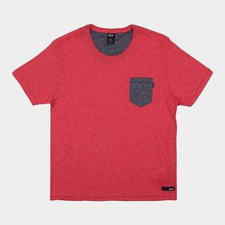 a01b07665 Camiseta Oakley Especial Mod Prime Pocket Sp Masculina