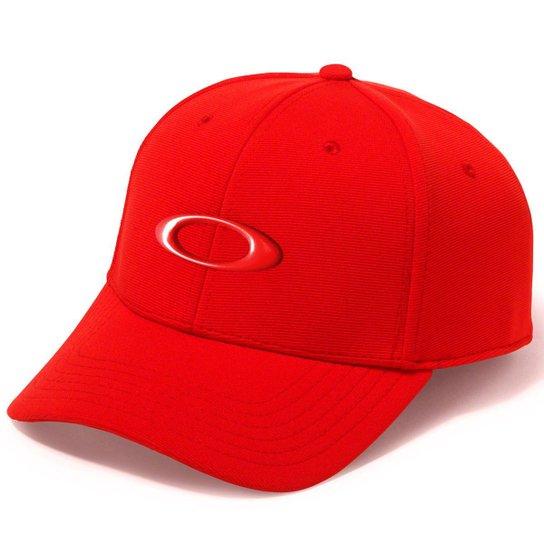 05a02ba05c71a Boné Oakley Tincan Cap Masculino - Vermelho - Compre Agora