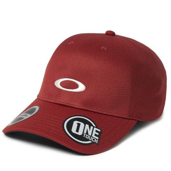 45c15bd491 Boné Oakley Tech Cap Blackout - Vermelho - Compre Agora