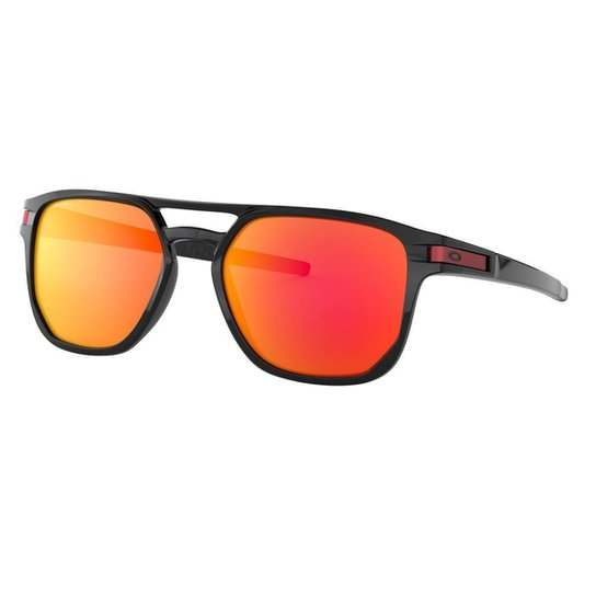 4f3060dde Óculos Oakley Latch Beta Polished Black/ Lente Prizm Ruby - Vermelho ...