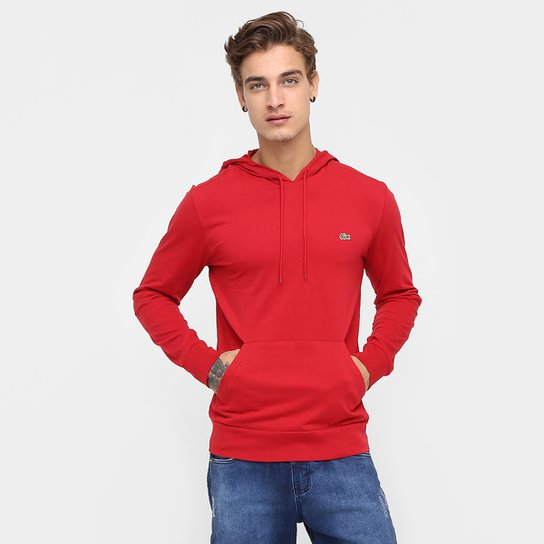 Camiseta Lacoste Manga Longa Capuz - Compre Agora   Zattini 5ad2c86d01