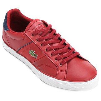 ef62e11d7b8 Tênis Lacoste Masculino Vermelho - Calçados