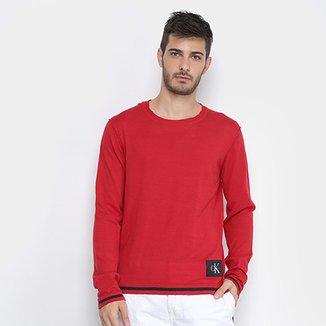 dc3cdb3ce2c22 Malhas-E-Tricos Calvin Klein - Ótimos Preços   Zattini