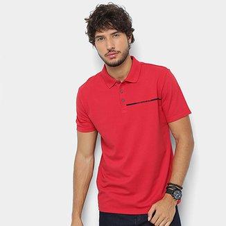 7b7efa817d4b9 Camisa Polo Calvin Klein Logo Palito Masculina