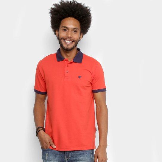 Camisa Polo Cavalera Bicolor Masculina - Compre Agora  283a5f8206e82