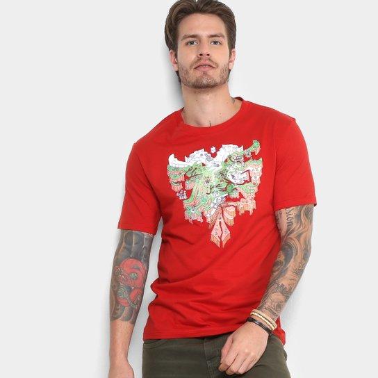 8a9a5e46b Camiseta Cavalera Águia Mario Masculina - Compre Agora