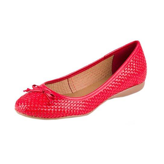 db54f6257 Coturno Bottero - Vermelho - Compre Agora | Zattini