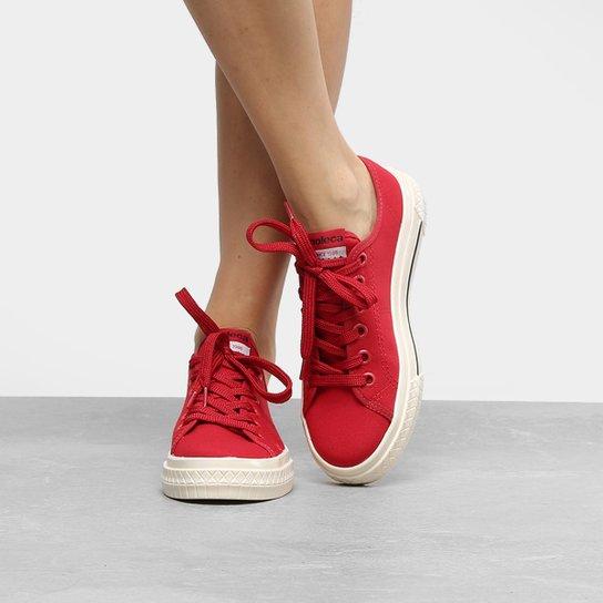 ef9697bfe65 Tênis Moleca Cadarço Feminino - Vermelho - Compre Agora