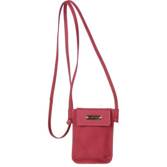 83ba30c067 Mini Bolsa Transversal Artlux - Vermelho - Compre Agora