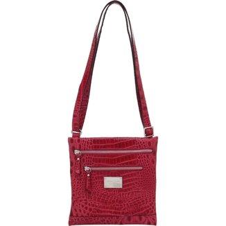 ddd1e67a83 Bolsa Smart Bag Couro Transversal
