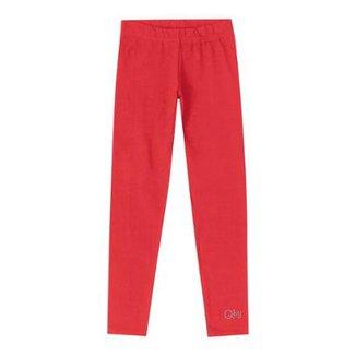 c2312d673 Calça Legging Infantil Cotton Quimby Feminina
