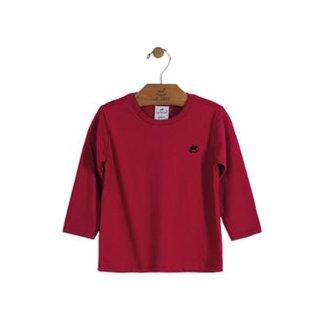 ac135e31250df Camiseta Meia Malha Infantil Up Baby