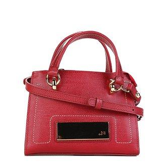 0b96056c8a Bolsa Couro Jorge Bischoff Mini Bag Arraia Feminina