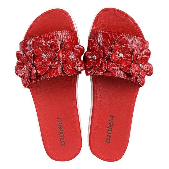 d557c1c095 Chinelo Azaleia Slide Flor Feminino - Compre Agora