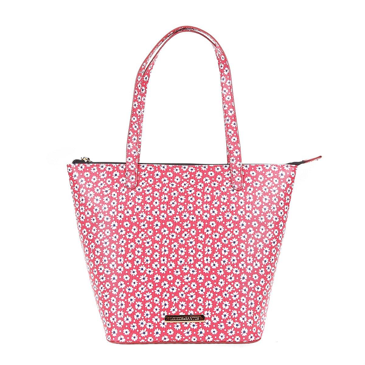 7874840b8 Bolsa Shopper Estampada Floral Loucos e Santos Feminina