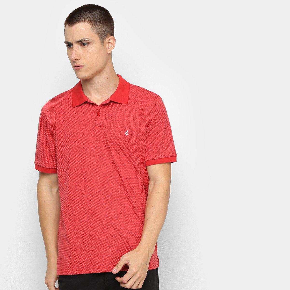 Camisa Polo Burn Textura Masculina