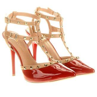 04a3276e4e Di Cristalli Feminino Vermelho - Calçados