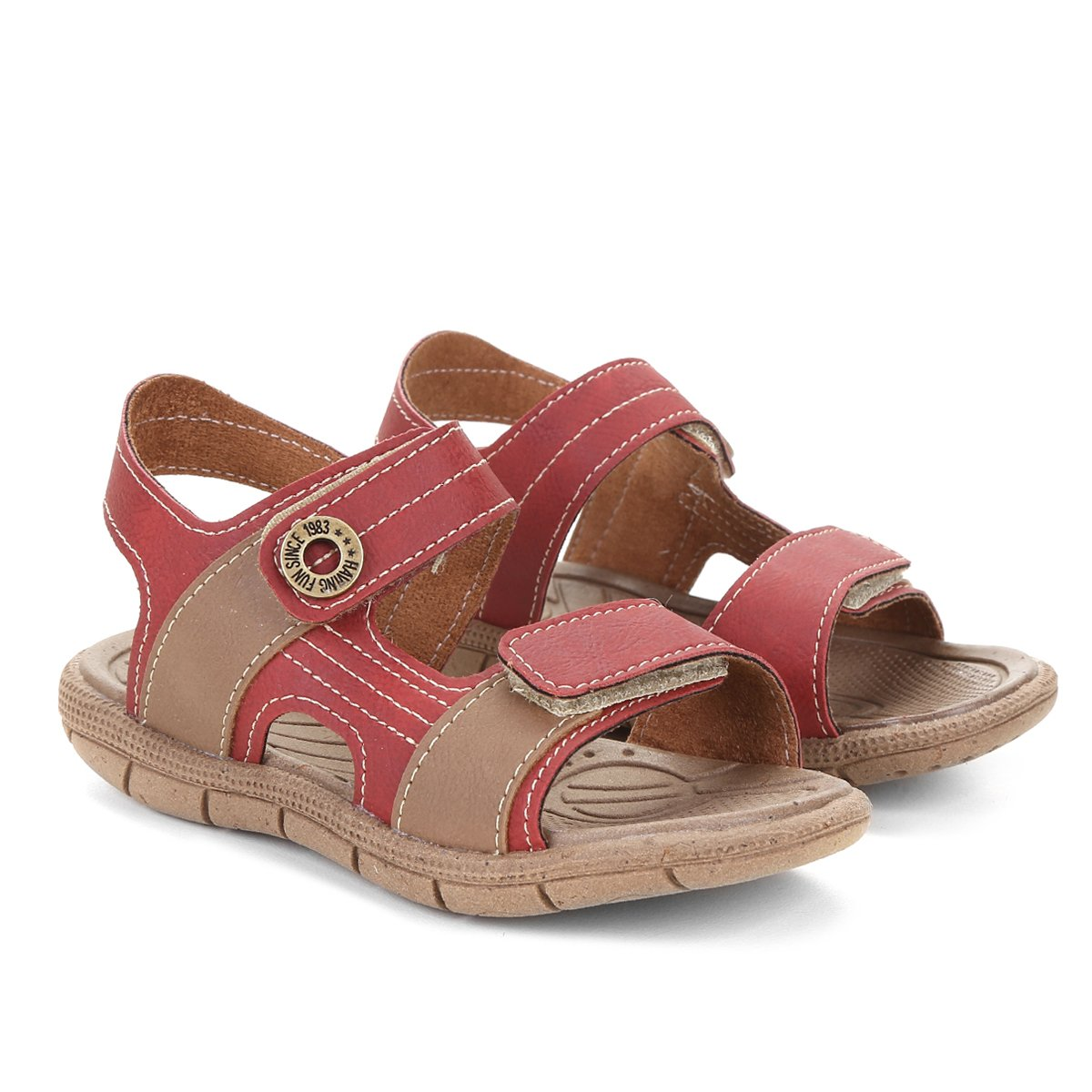 a6f1987775 FornecedorNetshoes. Sandália Infantil Klin Tic Tac Casual Menino