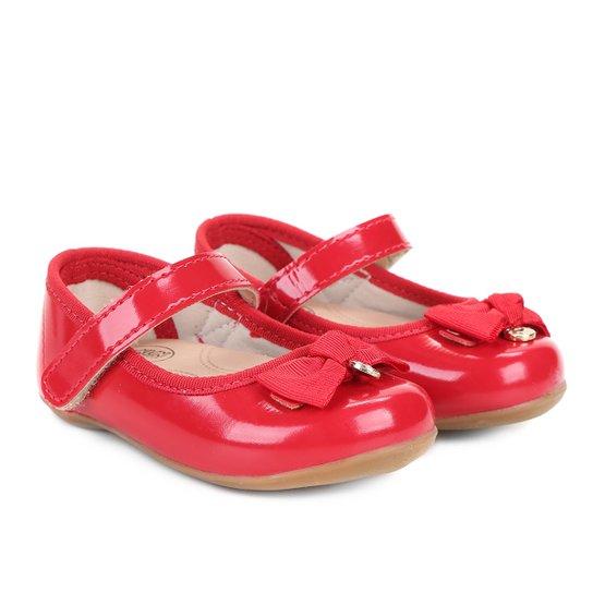 d15023853e Sapato Infantil Klin Cravinho Princess Menina - Vermelho - Compre ...