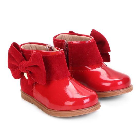 64df1501b4 Bota Infantil Klin Miss Fashion Feminina - Vermelho - Compre Agora ...