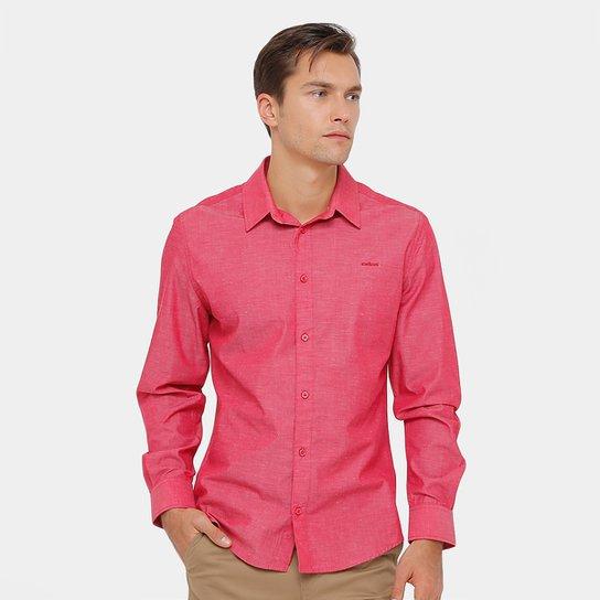 af2dd0963a Camisa Social Colcci Tricoline Mesclado Masculina - Compre Agora ...