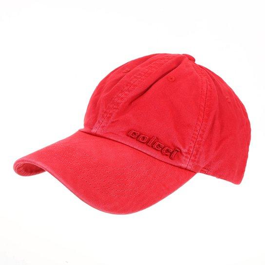 c237b15b7 Boné Colcci Strapback Clássico Bordado Aba Curva Masculino - Vermelho