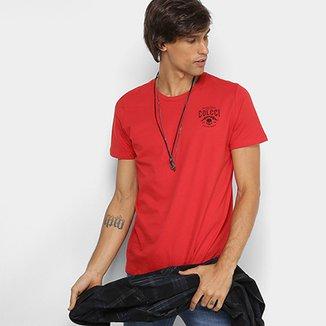 Camiseta Manga Curta Colcci Caveira Masculina cafa4f277cc10