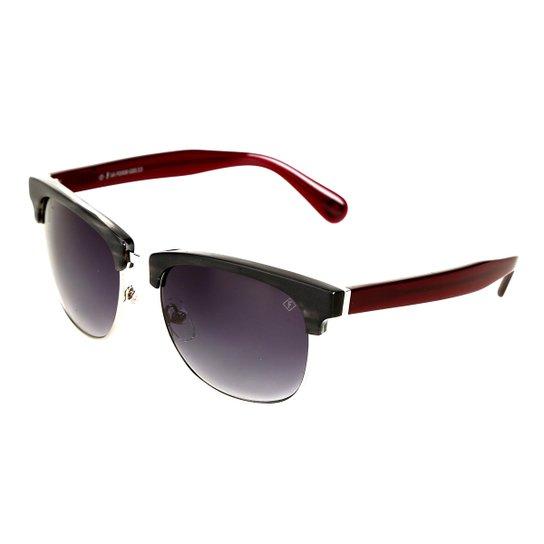 Óculos de Sol Forum Degradê Feminino - Vermelho - Compre Agora   Zattini a4af162c6d