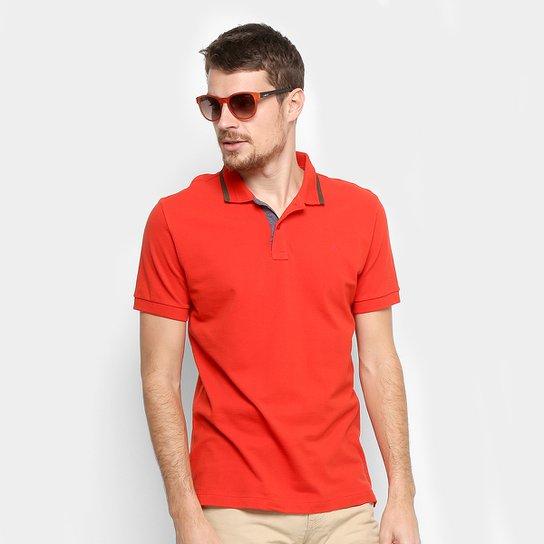 777e88f871 Camisa Polo Forum Piquet Masculina - Vermelho - Compre Agora