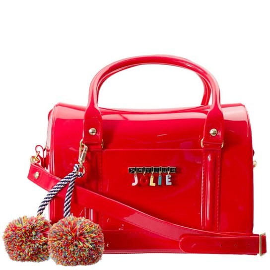 ce835dda91 Bolsa Feminina Petite Jolie Pj3020 Pvc J-lastic - Vermelho - Compre ...