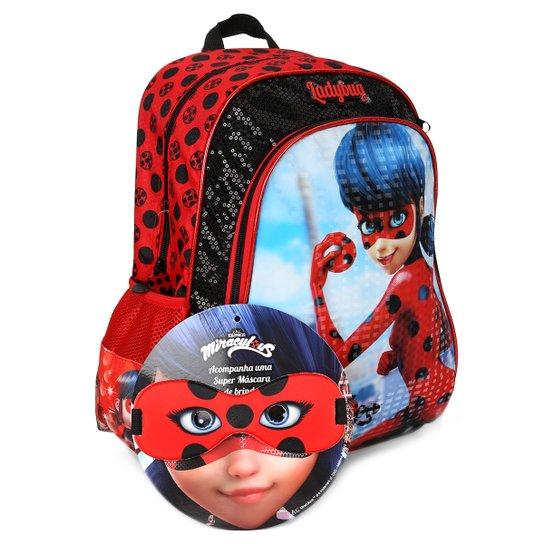 Mochila Pacific Miraculous Ladybug Infantil - Compre Agora  a2d638a94cf04