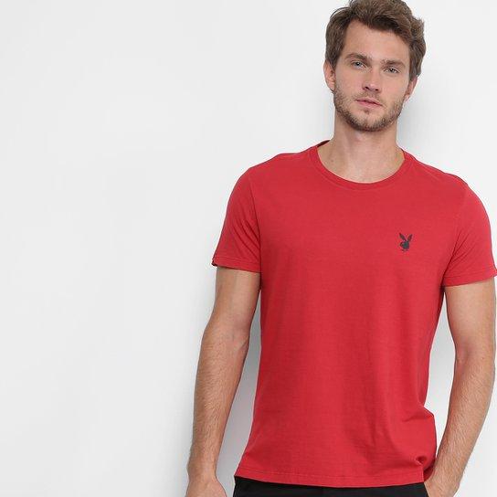 Camiseta Ellus Gola Careca Coelho Básica Masculina - Compre Agora ... 71e27b8093a