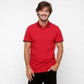 dbb3ec9bf7 Camisa Polo Ellus 2nd Floor Gola Punho Jacquard