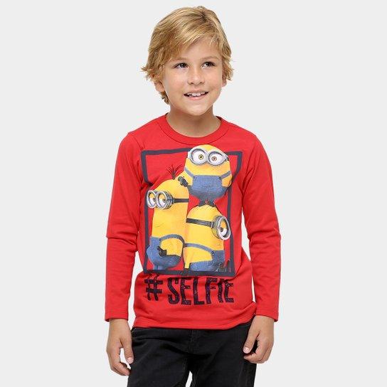 Camiseta Malwee Meu Malvado Favorito Infantil - Compre Agora   Zattini b9b413d35d