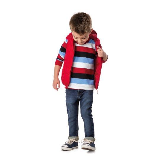 Camiseta Manga Longa Infantil Malwee listrada Masculino - Compre ... be429f6eda