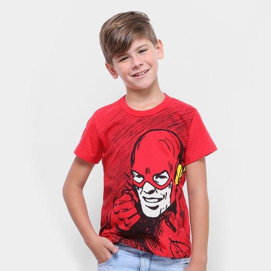 8c350e5c7 Camiseta Infantil Kamylus Flash Masculina - Compre Agora