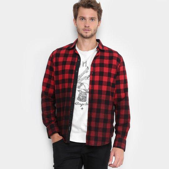 546e387a6aae2 Camisa Xadrez Replay Chess Dark Masculina - Compre Agora