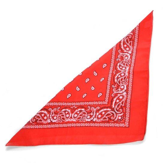 Lenço Galeria Do Rock Tipo Bandana - Vermelho - Compre Agora  25938988e86