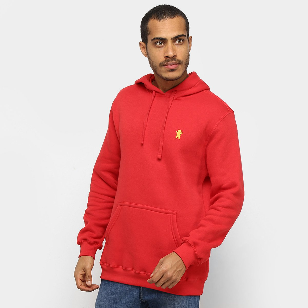 Moletom Grizzly Og Bear Pullover Embroidery Masculino