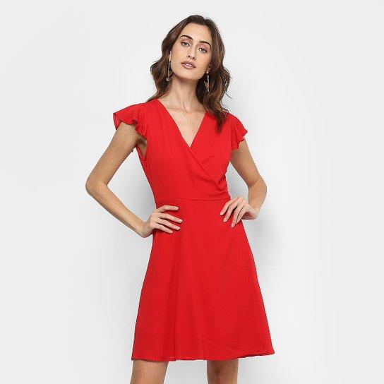 919579801 Vestido For Why Transpassado Feminino - Compre Agora | Zattini
