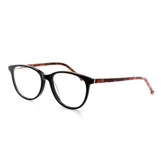 578ccbd1927a6 Armação De Óculos De Grau Cannes 1-03 T 52 C 01 Feminino - Vermelho ...