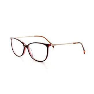 ec16fee1527a8 Armação De Óculos De Grau Cannes 2991 T 53 C 4 Feminino