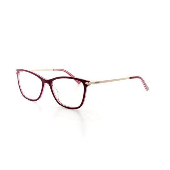 e778e0483f2ca Armação De Óculos De Grau Cannes 1009 T 53 C 2 Feminino - Compre ...